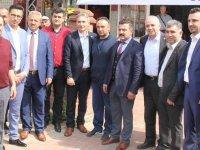 Millet ittifakı adayları Besim Dutlulu ve Orkun Şıktaşlı vatandaşlarla buluştu