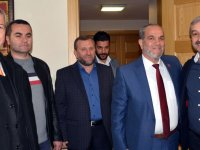 Ali Dursun, ATSO'yu ziyaret etti