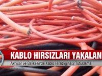 Akhisar ve Balıkesir'de Kablo Hırsızlığına 2 Tutuklama