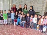 Özel Deniz Anaokulu öğrencileri Kütüphane ziyaretinde