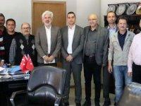 Akhisar Belediye Başkanı Salih Hızlı'ya personelden teşekkür ziyaretleri
