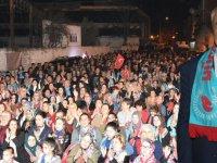 Hüseyin Eryüksel'den, Atatürk Mahallesinde coşkulu miting