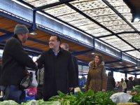Dutlulu, pazarcı esnafını ziyaret etti