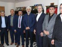 Akhisarlı Gördeslilerden Belediye Başkanı Salih Hızlı'ya ziyaret