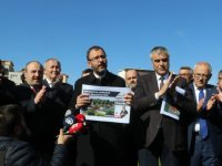 İki Bakan Akhisar'da Eryüksel'in projelerine onay verdi