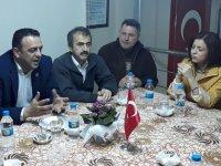 Muhtar Adayı Serpil Pehlivan'dan Balkan Göçmenleri Derneğine saygı ziyareti