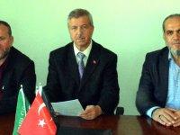 Ali Dursun, basın açıklaması yaptı