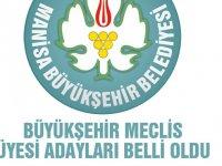 Akhisar Belediye Meclisinden, Büyükşehir Belediye Meclisine gidecek isimler belli oldu