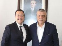 Akhisarspor yönetiminden, Belediye Başkanı Besim Dutlulu'ya ziyaret