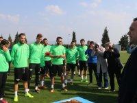 Akhisar Belediye Başkanı Besim Dutlulu'dan, Akhisarspor'a ziyaret