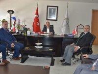 İlçe Milli Eğitim Müdürü'nden Başkan Dutlulu'ya tebrik ziyareti