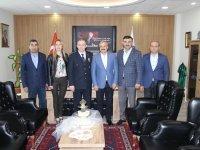 ATSO, Emniyet Müdürü Pınar'ı ziyaret etti