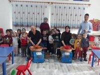 Zehra Muhittin Kavaklı Anaokulunda çömlek etkinliği