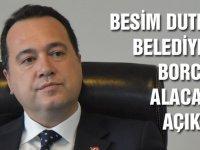 Başkan Dutlulu, belediyenin borçlarını ve gecikmiş alacaklarını açıkladı