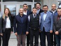 ATSO, Jandarma Komutanı Tekinay'ı ziyaret etti