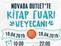Novada Outlet'te Kitap Fuarı heyecanı