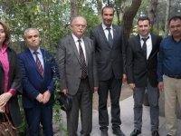 Kaymakam Sabit Kaya, Akhisar Meteoroloji Müdürlüğünü ziyaret etti