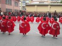 Misak-ı Milli Ali Şefik İlköğretim okulunda 23 Nisan coşkusu