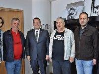 Akhisarlı basın mensuplarından Başkan Dutlulu'ya ziyaret