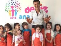 Akhisar Özel Deniz Anaokulunda çocukların çömlek yapım heyecanı