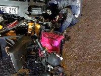 Akhisar'da feci kaza 1 ölü