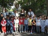 Bahçeşehir Koleji anaokulu öğrencileri Meteoroloji Müdürlüğünü ziyaret etti