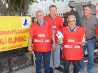 DİSK Emekli-Sen'den I Mayıs'a davet