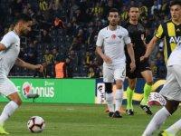 Akhisarspor, deplasmanda Fenerbahçe'ye yenilerek ligden düştü