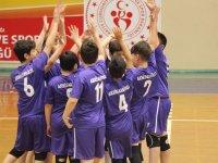 Akhisargücü mini voleybol ordusu Manisa mini voleybol ligine katıldı
