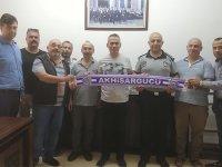 Akhisargücü, Zabıta Müdürü Mustafa Yıldırım'ı ziyaret etti