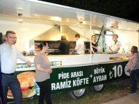 Ramiz Köfte, Çağlak Festivalindeki yerini aldı