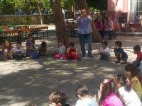 Misak'da okul dışarıda günü etkinliği