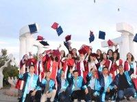 Atatürk Ortaokulu öğrencileri mezuniyet eğlencesi
