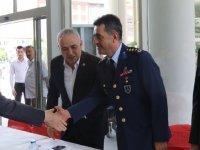 Akhisar'da bayramlaşma programı yapıldı