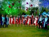 Beyoba İhsan Ünlü Ortaokulu mezuniyet coşkusu