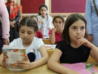 Akhisar'da 29 bin 35 öğrenci karne aldı
