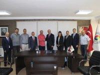 Halk Bankası İzmir 3. Bölge Koordinatörlüğünden ATSO'ya ziyaret