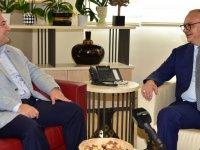 Akhisar Belediye Başkanı Dutlulu'dan Başkan Ergün'e ziyaret