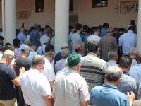 Akhisar'da Mısır Lideri Mursi için gıyabi cenaze namazı kılındı