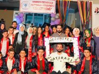 Hanpaşa'da mezuniyet coşkusu