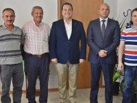 Büyükşehir Genel Sekreter Yardımcısı Öztozlu'dan başkan Dutlulu'ya ziyaret
