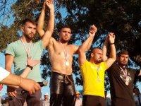 Yağlı Güreş müsabakalarına Akhisar damga vurdu