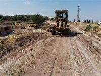 2 ayda 34 mahallenin arazi yolları yapıldı