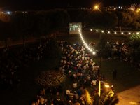 Akhisar Gölet'te açık hava sinema günleri başladı