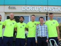 Akhisarspor, sağlık kontrolünden geçti