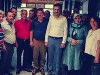 İyi Parti Akhisar ilçe teşkilatı, Çiftçi Malları Koruma Başkanlığını ziyaret etti