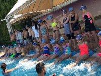 Akhisargücü Spor kulübü yaz okulu yüzme kursu 2. Tur Palm City Hotel'de başladı