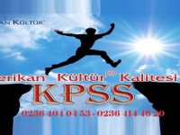 Amerikan Kültür Dil Kursundan KPSS'ye hazırlananlara büyük destek