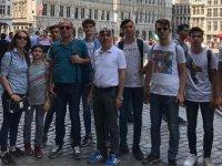 Kayhan Ergun Mesleki ve Teknik Anadolu lisesi Avrupa'daki staj programını tamamladı