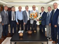 Esnaf Odası Başkanlarından Başkan Ergün'e Ziyaret